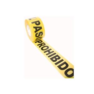 BANDA PROHIBIDO EL PASO 305 MTS.
