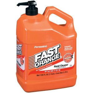 LIMPIADOR DE MANOS PERMATEX FAST ORANGE 3.78L