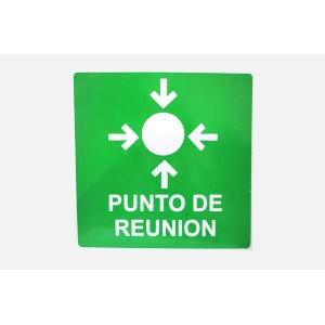 SEÑALAMIENTO DE PUNTO DE REUNION 40 X 40