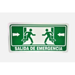 SEÑALAMIENTO DE SALIDA DE EMERGENCIA 40 X 20