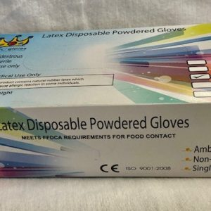 GUANTE TIPO CIRUJANO DE LATEX CON PLOVO MC GLOVES