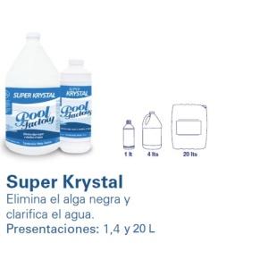SUPER KRYSTAL. POOL FACTORY