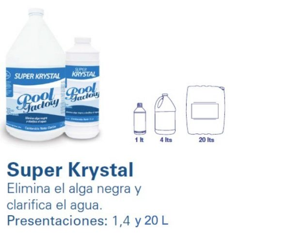 SUPER KRYSTAL. POOL FACTORY